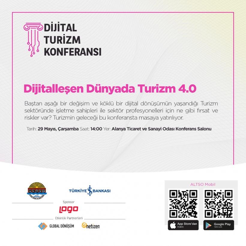 ALTSO Başkanı Şahin'den Dijital Dünya'da Turizm'e davet